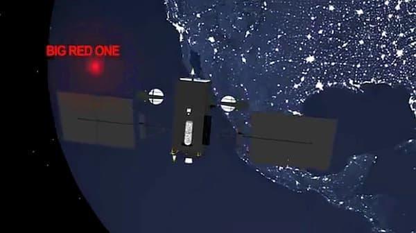 NORAD はサンタの位置特定に人工衛星を利用(出典:NORAD)