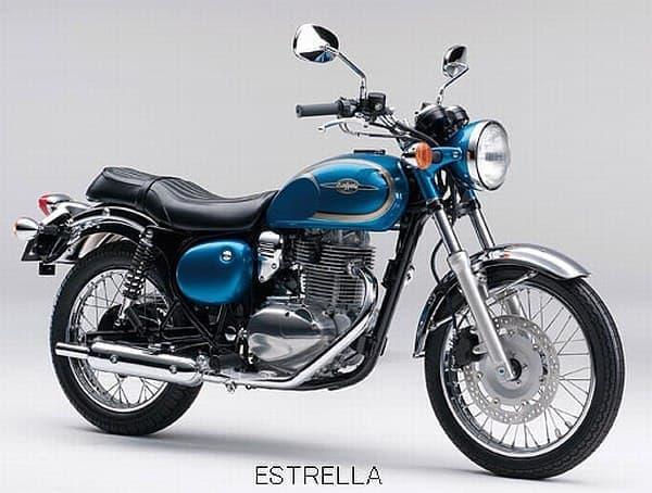 250cc のクラシックスポーツモデル「ESTRELLA(エストレヤ)」