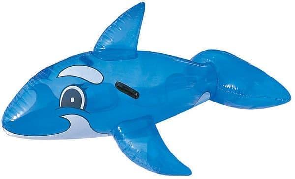イルカ型ビーチフロート  これに乗ると、誰でもちょっとかわいく見えます