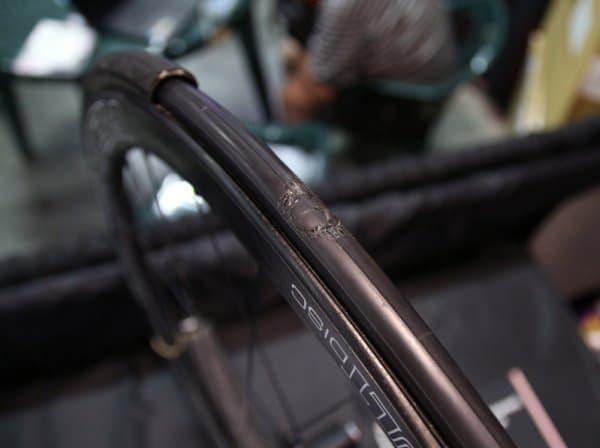 「PATCHNRIDE」を使用してパンク修理を実施したチューブ  (画像出典: BikeRumer)