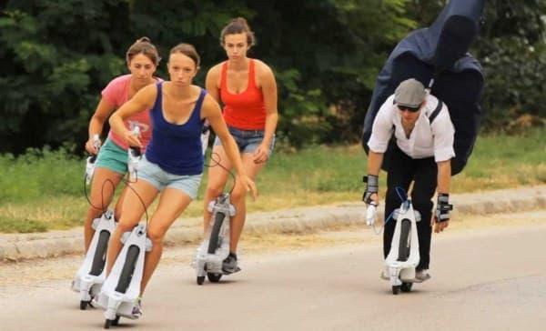 「ガウスホイール」は、新しい形のスポーツ遊具