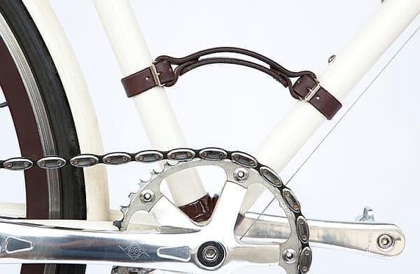 「Bicycle Frame Handle」をフレームの適切な位置に取り付ければ、