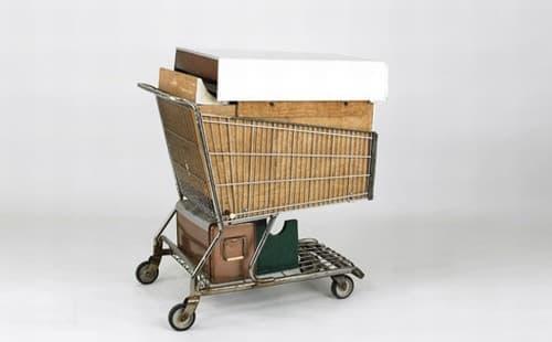 普通のショッピングカート同様、軽々と運べます