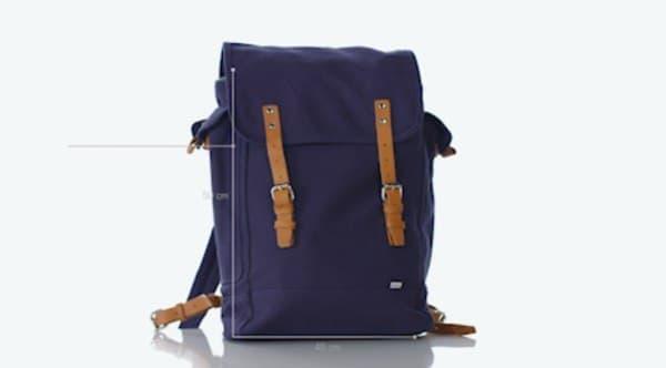 畳んだ後は、専用のバッグで持ち運び可能