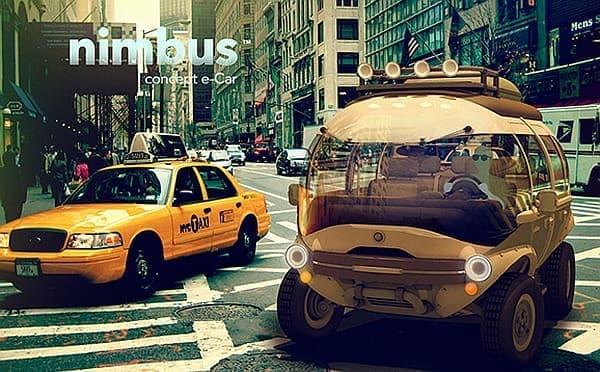 都市部ではモーターで走行します