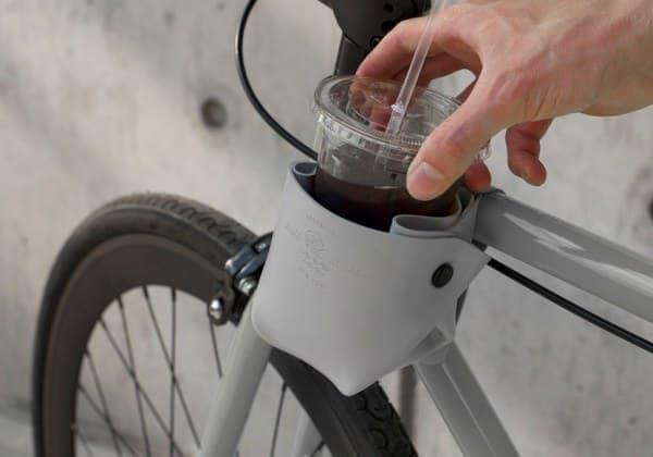 自転車用カップホルダー「BICYCLE CUP HOLDER」