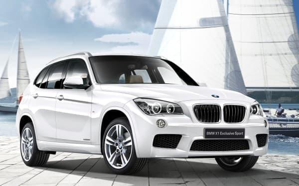 夏のリゾートにぴったりの限定車「BMW X1 Exclusive Sport」