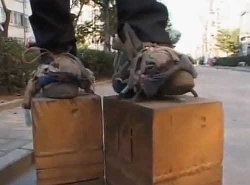 重さ400キロの靴