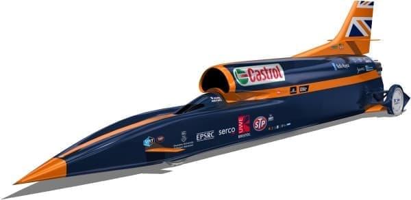時速1,600km を狙う超音速自動車『ブラッドハウンド・スーパー・ソニック・カー』