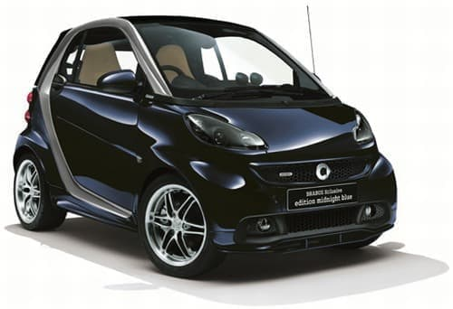「スマート」の特別仕様車「smart fortwo coupe BRABUS Xclusive edition midnight blue」