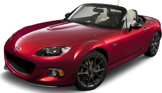 マツダ、特別仕様車『Mazda MX-5 Miata 25th Anniversary Edition』を発表