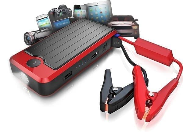 自動車をジャンプスタートできるスマートフォン充電器「PowerAll」