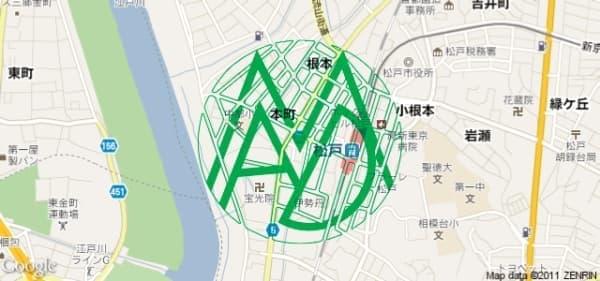「MAD City プロジェクト」実施エリア