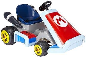 スーパーマリオカートのレース&バトルが楽しめる「Super Mario Kart Ride On Vehicle」