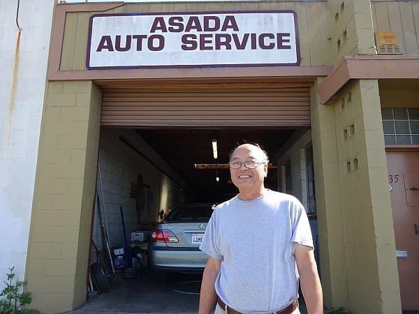 Asada Auto も、ハイウェイ101から見える場所にあります
