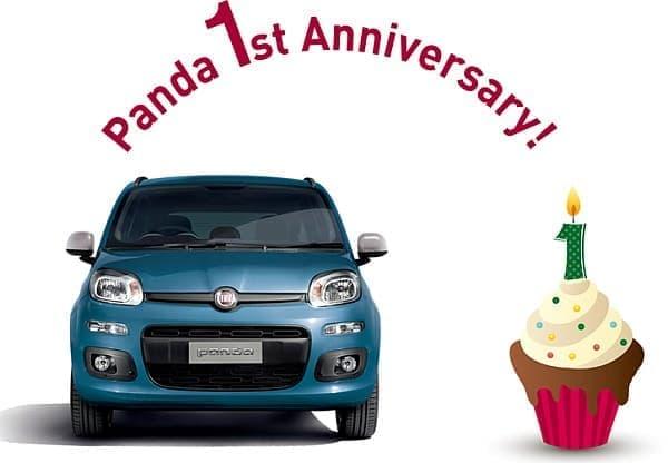 「フィアットパンダ モットイージー」は、  「フィアットパンダ」発売1周年を記念した限定車