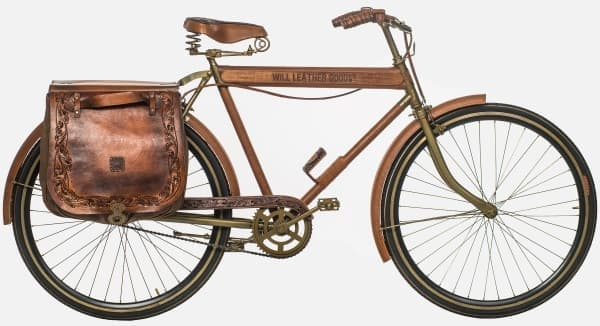 革製品ブランド WILL の「Leather Bicycle #1」