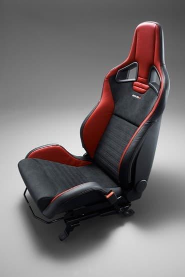 「ノート NISMO S」にオプション設定される予定の「RECARO 製スポーツシート」