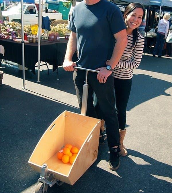 ファーマーズマーケットでフルーツを買っても、