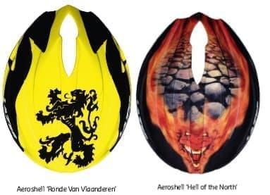 「Ronde van Vlaanderen(ツールドフランス)」版(左)と「Hell of the North」版(右)
