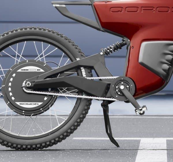 「ペダル(自転車)モード」では、力の続く限り走り続けられる