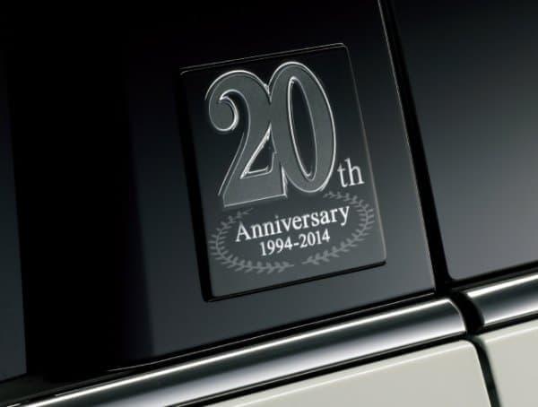 20th Anniversary 専用エンブレム(リアドア左右)