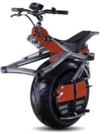 電動の一輪バイク「Ryno」