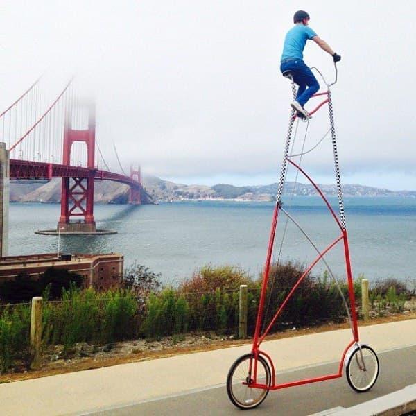 Richie Trimble 氏が製作した自転車