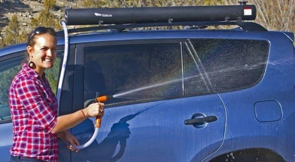 洗車にも利用可能