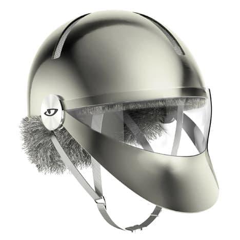 「Snow」をイメージしたヘルメット