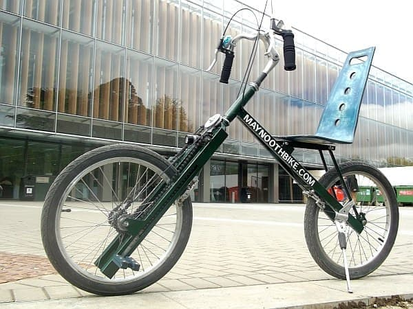 Christoph Lenz 氏が開発した「MaynoothBike」