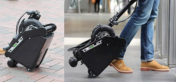 「Trikelet」は世界最小の電動スクーター