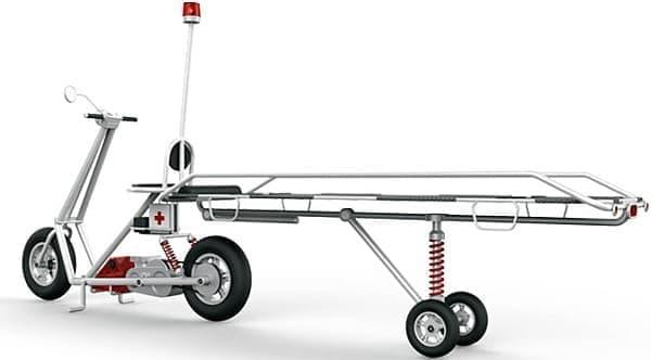 救急バイク「Zephyr Rescue Scooter」のコンセプトモデル
