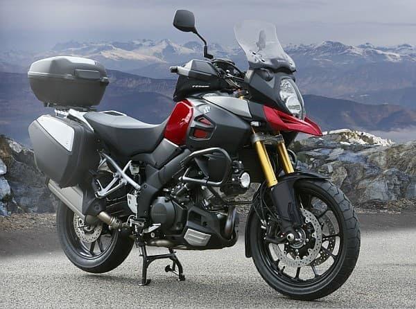 スズキが発売する長距離ツーリング向け大型二輪車「V-Strom 1000 ABS」  (写真は海外仕様車)
