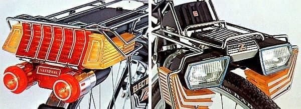 「スーパーカー自転車」に搭載された装備の一部  も一度乗ってみたい!?