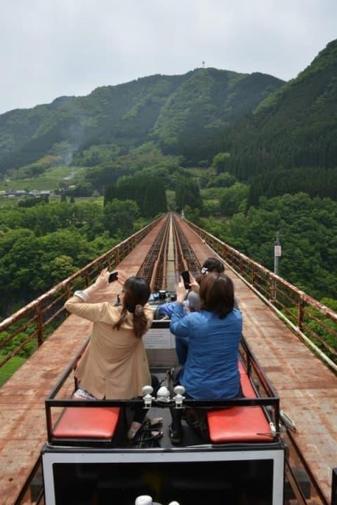 高千穂橋からの眺めを存分に楽しめる