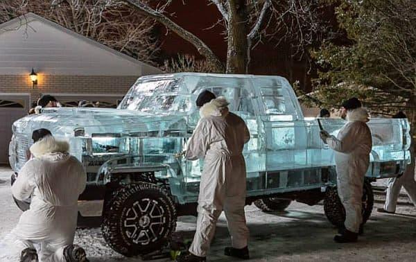 ボディを製作したのは、Iceculture の方たち