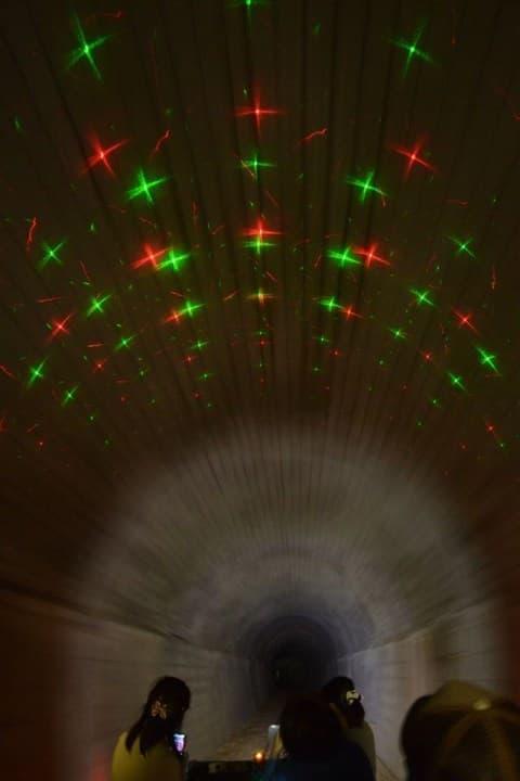 トンネル内の涼しさ