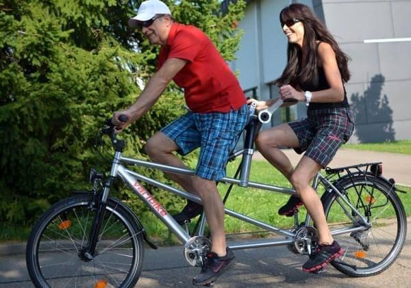 Varibike のタンデムバイク