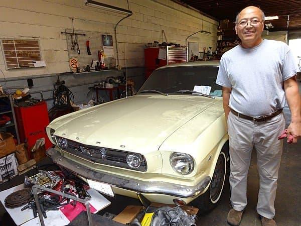 シリコンバレーで自動車整備工場を経営する浅田さん