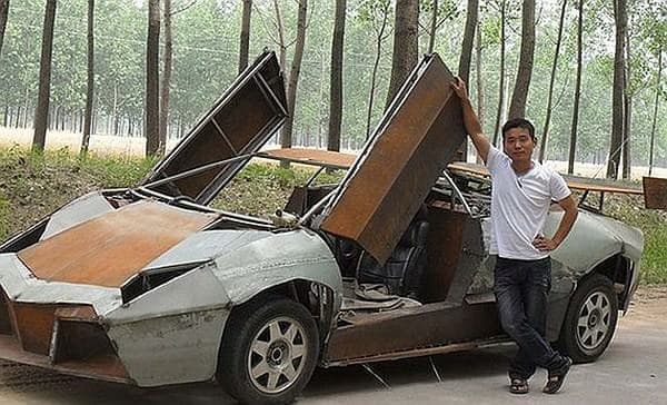 Jian Wang さんが自作したランボルギーニ・レヴェントン