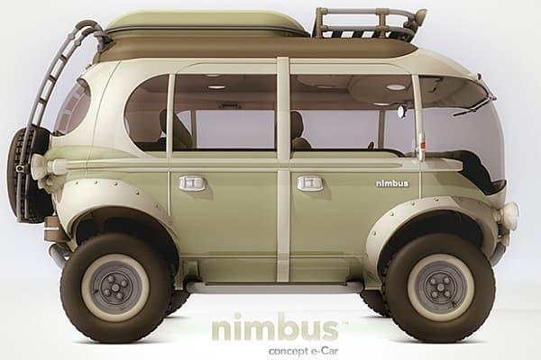 「nimbus」側面  ワーゲンバスっぽい?