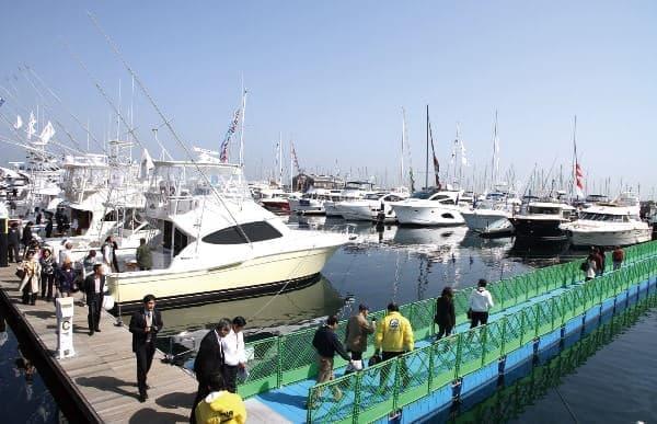 2013年ボートショー 横浜ベイサイドマリーナ(イメージ写真)