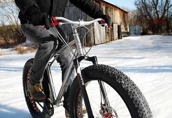 Budnitz 社のファットバイク「Budnitz FTB」  見よ、3.8インチの極太タイヤ!
