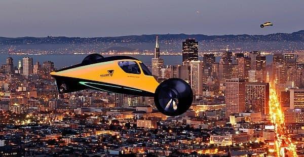 通常は自動車として、長距離移動が必要な際には飛行機として利用できる