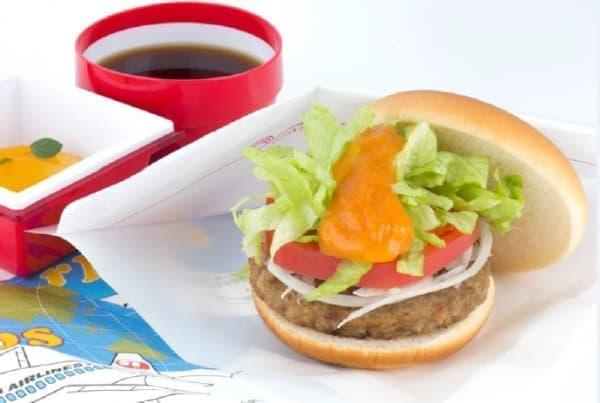 JAL×モス第4弾は「野菜バーガー」