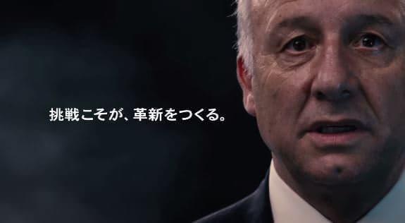 メッセージを日本語で伝える姿も熱い