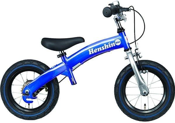 子ども向けの練習用自転車「へんしんバイク」