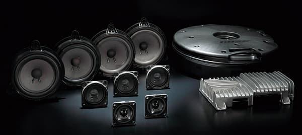 BOSE サウンドシステムが標準装着