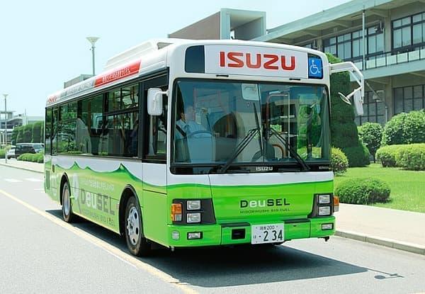 DeuSEL で走るシャトルバス